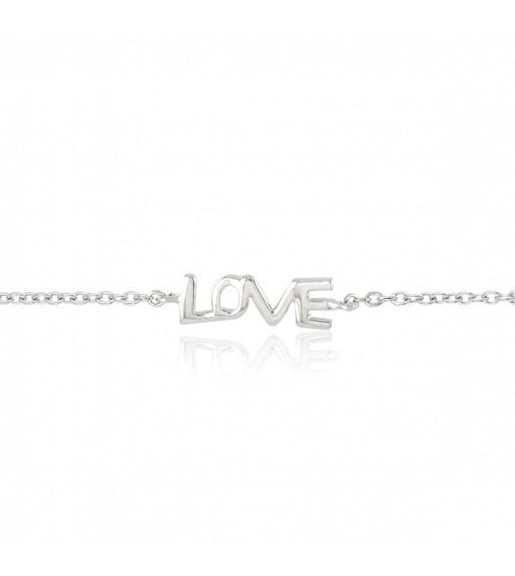 Bracelet Love en Argent 925/00