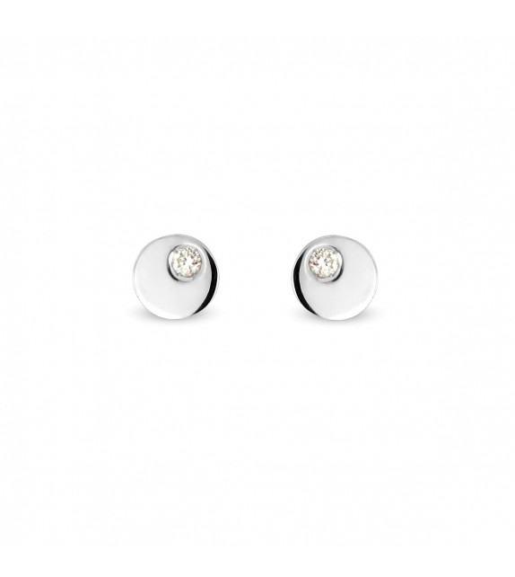 Boucles d'oreilles diamants en Or 750/00