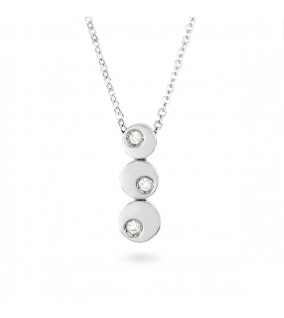 Collier en Or 750/00 et diamants