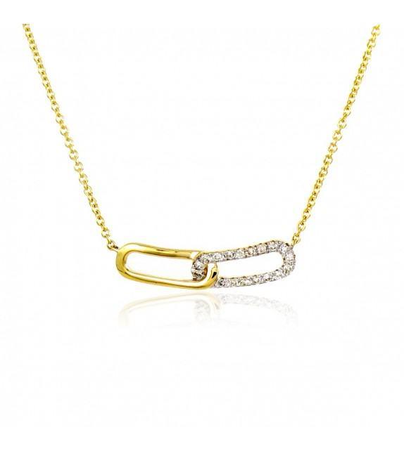 Collier en Or 375/00 et diamants