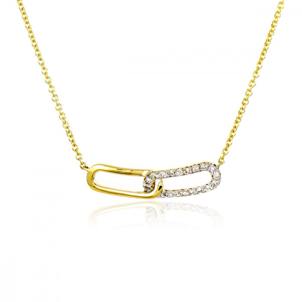 Collier en Or 375/00 et diamants