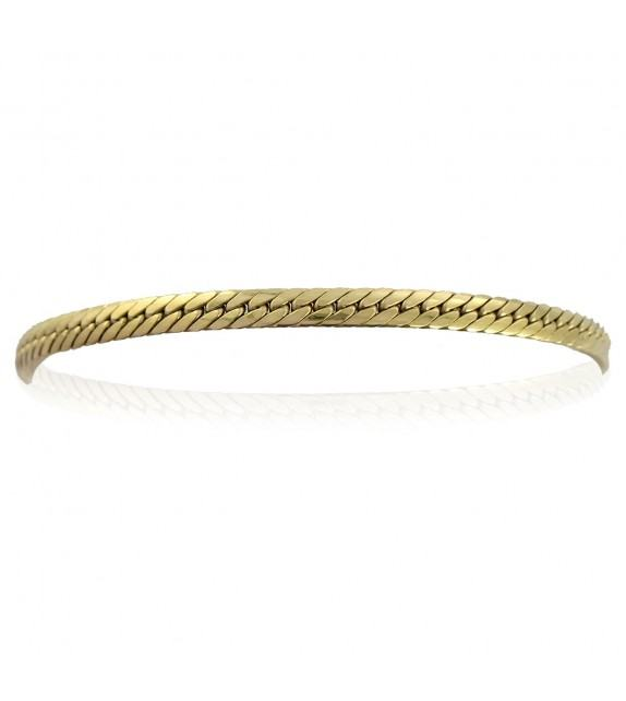 Bracelet Or jaune 375/00 maille anglaise