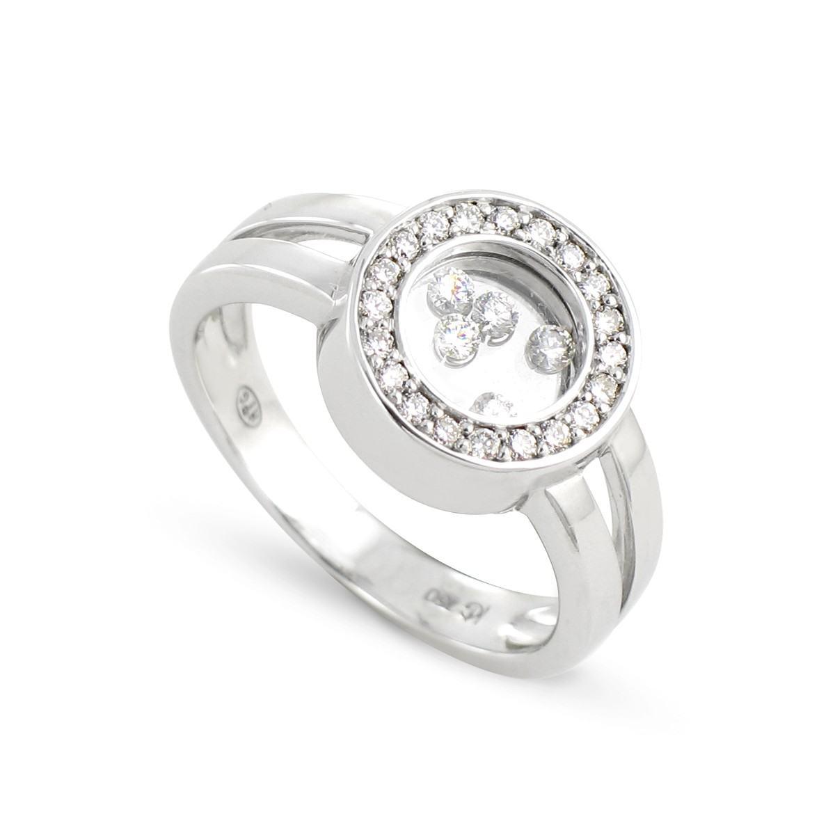 bague or rhodie diamant