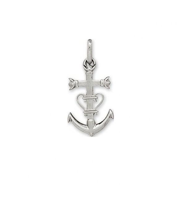 Pendentif croix camarguaise en Argent 925/00