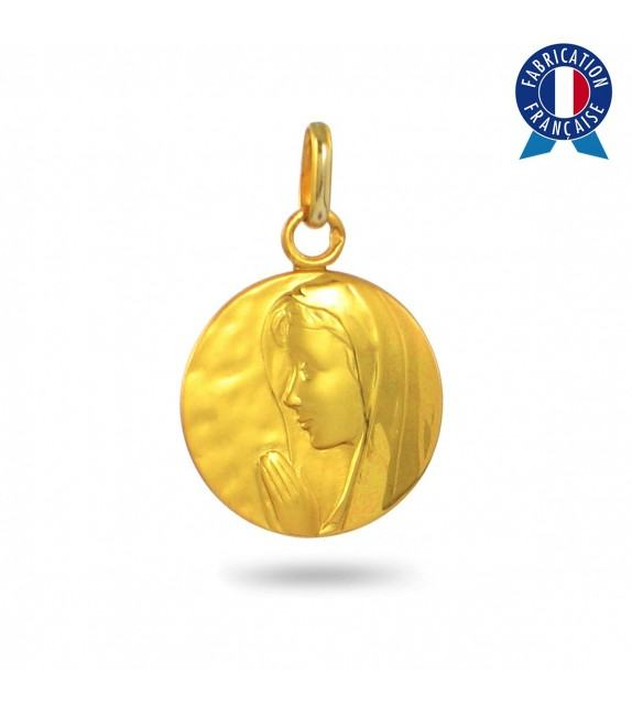 Médaille Vierge en Or jaune 375/00