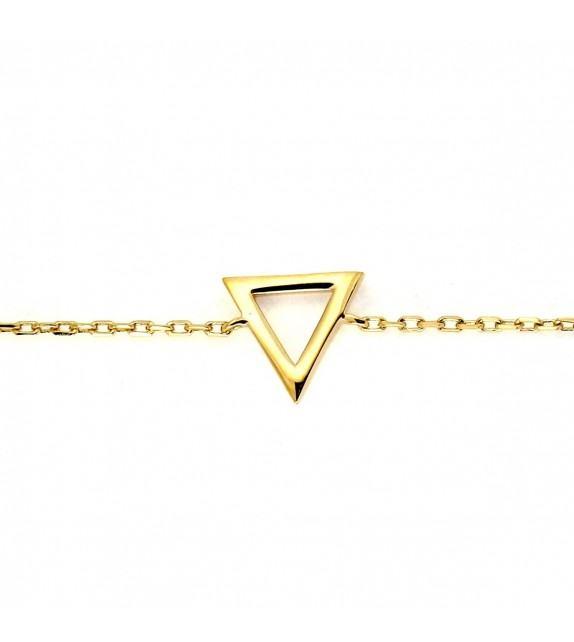 Bracelet Triangle plaqué Or