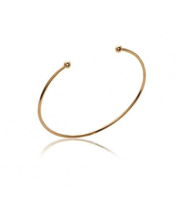 Bracelet Simplicité plaqué Or