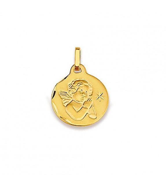 Pendentif ange étoilé Or jaune 375/00