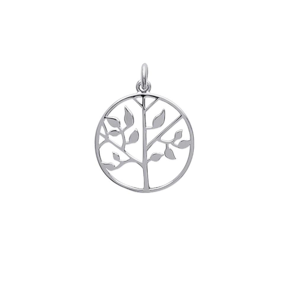Pendentif arbre de vie XS Argent 925/00 rhodié