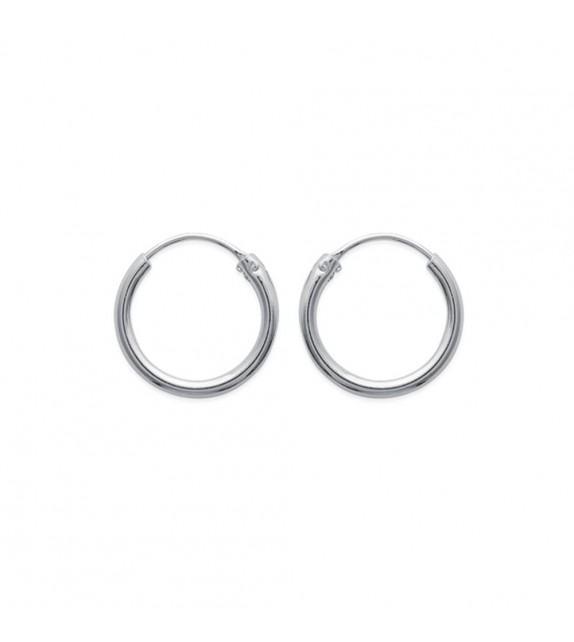 Boucles d'oreilles créoles 20 mm Argent 925/00