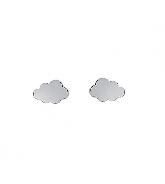 Boucles d'oreilles nuage Argent 925/00