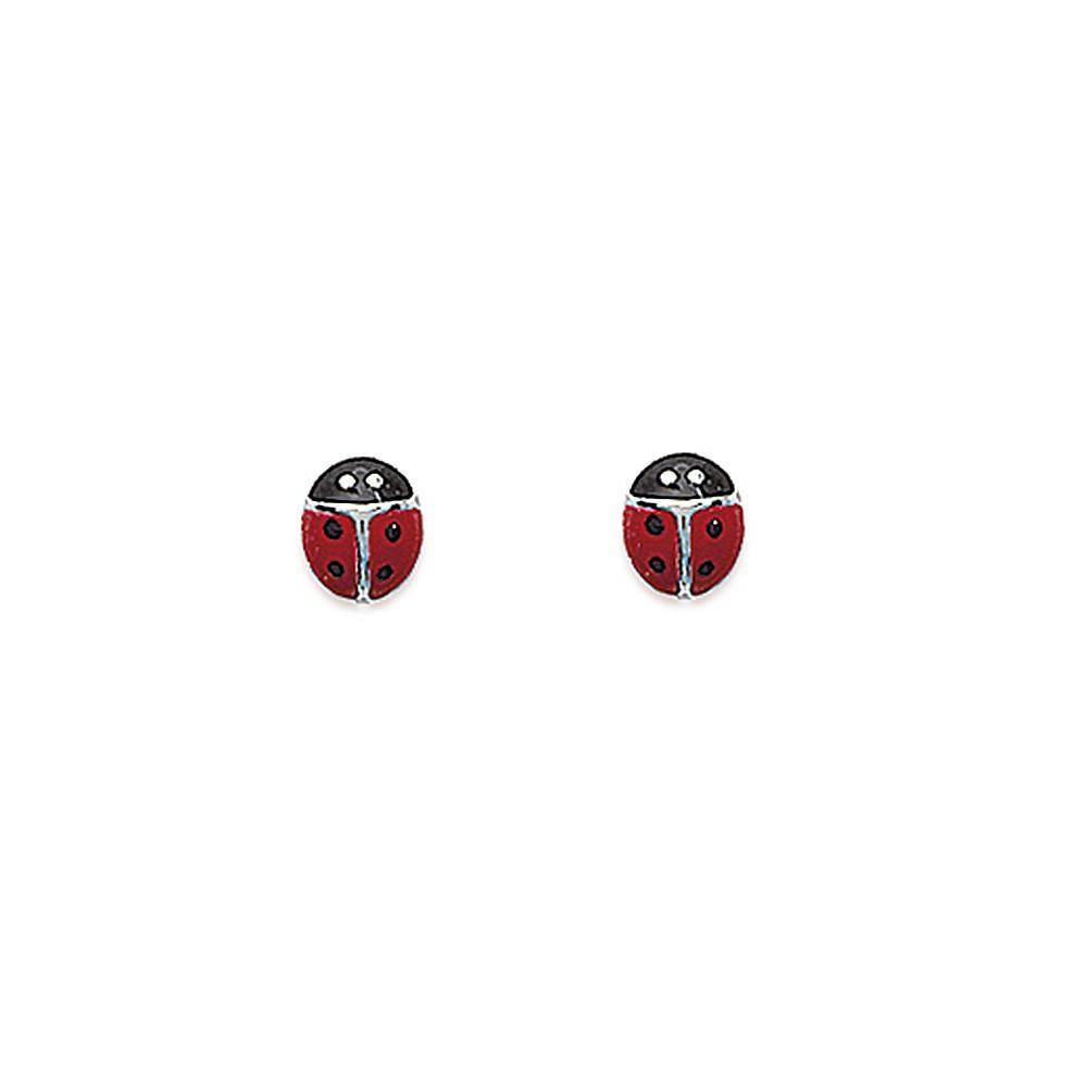 Boucles d'oreilles coccinnelles Argent 925/00