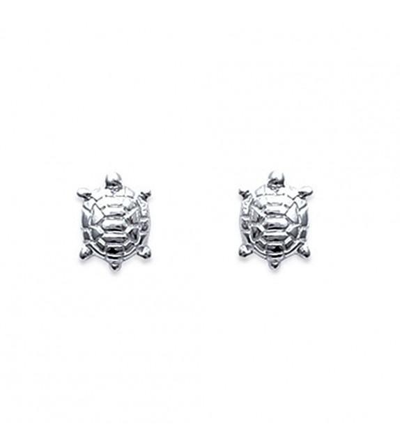 Boucles d'oreilles tortue Argent 925/00