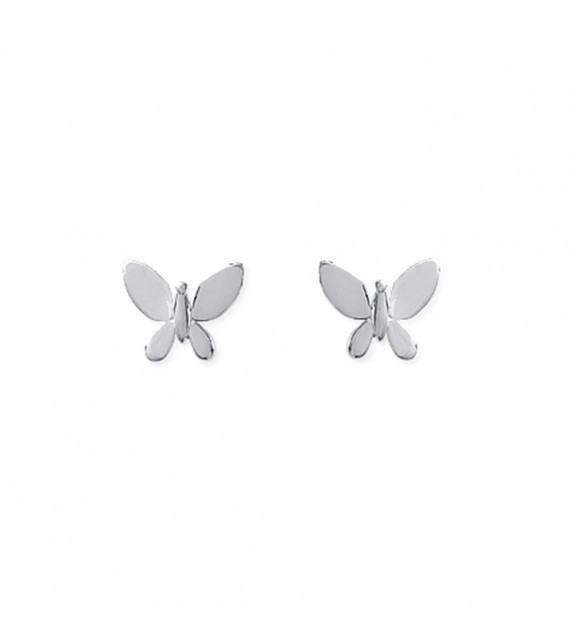 Boucles d'oreilles papillon Argent 925/00