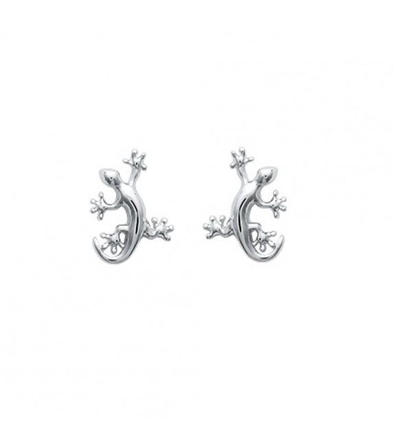 Boucles d'oreilles margouillat Argent 925/00