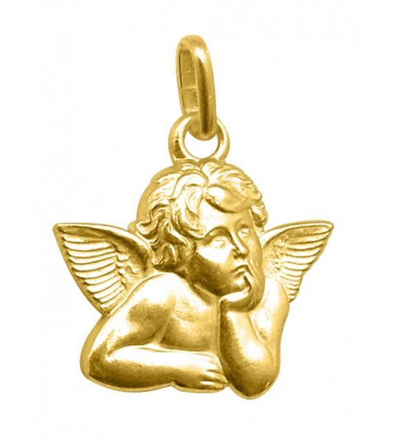 Médaille Ange découpé Raphaël Or jaune 750/00