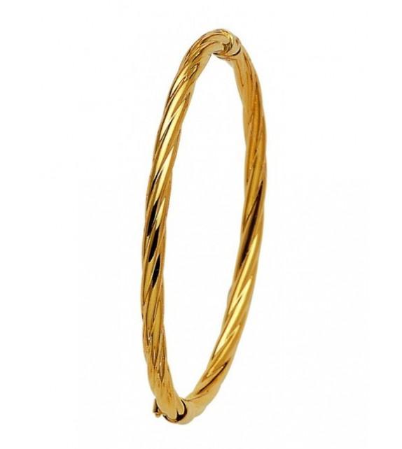 Bracelet Jonc or jaune 375/00