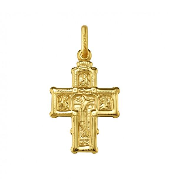 Croix Byzantine or jaune 375/00