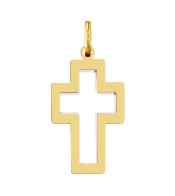 Croix or jaune 375/00